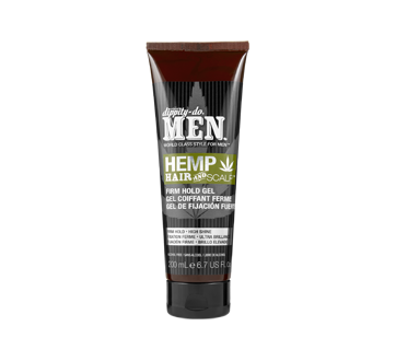 Hemp Hair and Scalp Firm Hold Gel, 200 ml