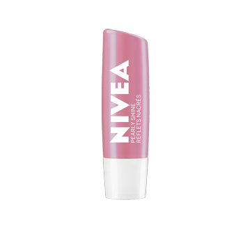 Image 2 of product Nivea - Pearly Shine Lip Balm Sticks, 24H Moisture, 2 units
