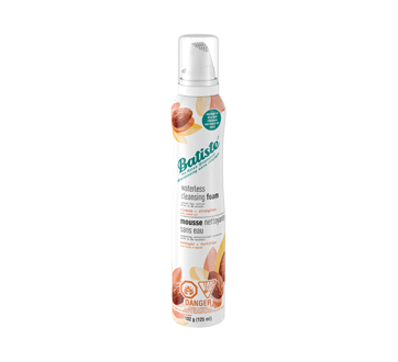 Waterless Cleansing Foam, 125 ml, Almond Oil