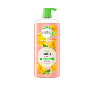 Body Envy 3 in 1 Shampoo, Conditioner, Body Wash, 600 ml
