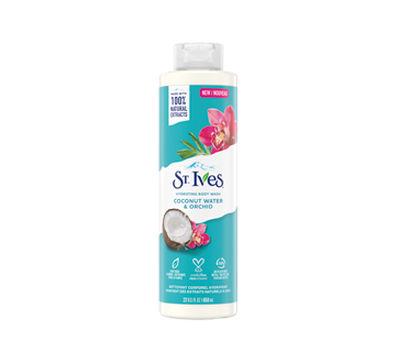 Coconut Water & Orchid Body Wash, 650 ml