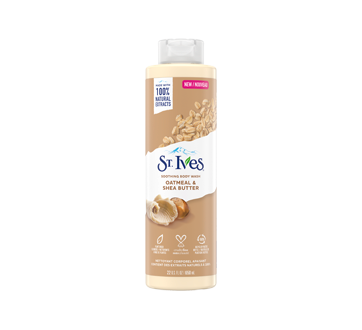 Image of product St. Ives - Oat + Shea Butter Body Wash, 650 ml