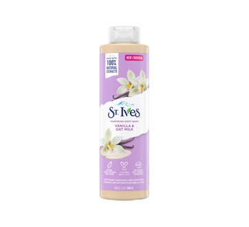 Vanilla & Oat Milk Body Wash, 650 ml