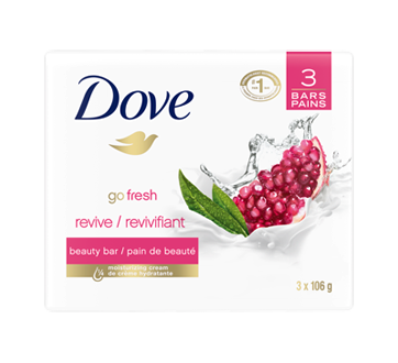 Pomegranate and Lemon Verbena Beauty Bar Revive, 3 units