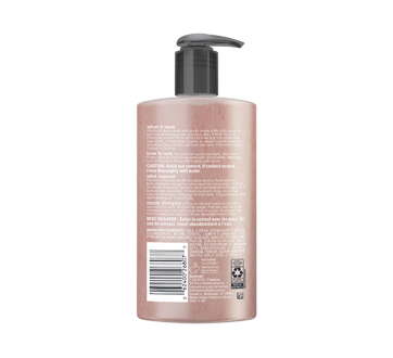 Image 2 of product Bioré - Rose Quartz + Charcoal Daily Purifying Cleanser, 200 ml