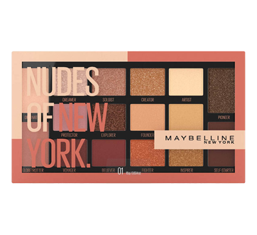 The Nudes Eyeshadow Palette, 12 g , Melting Pot Shadow P