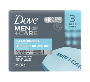 Body + Face Bar, 318 g, Clean Comfort