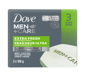 Body + Face Bar, 318 g, Extra Fresh