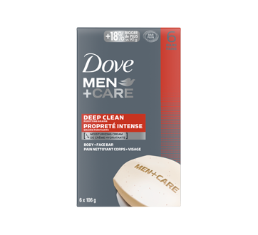 Body + Face Bar, 637 g, Deep Clean