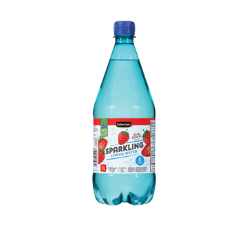 Sparkling Spring Water, 1 L, Strawberry