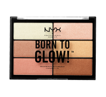 Born To Glow Highlighting Palette, 1 unit