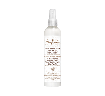 Leave-In Treatment Daily Hydration 100% Virgin Coconut Oil, 237 ml