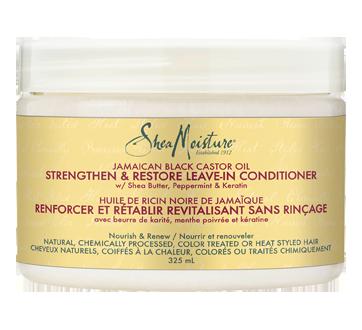 Leave-In Conditioner Strengthen & Restore Jamaican Black Castor Oil, 325 ml