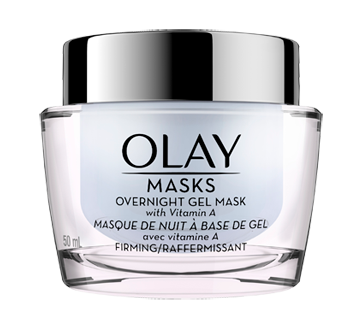 Image of product Olay - Firming Overnight Gel Face Mask with Vitamin A, 50 ml