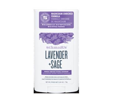 Deodorant, 75 g, Lavender + Sage