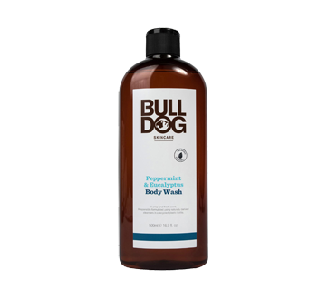 Body Wash for Men, 500 ml, Peppermint Eucalyptus