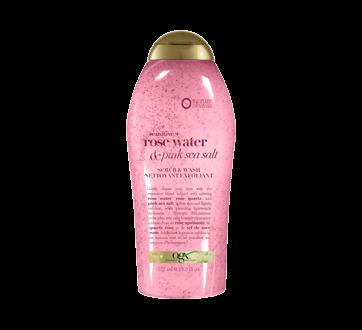 Sensitive + Rose Water & Pink Sea Salt Scrub & Wash, 577 ml