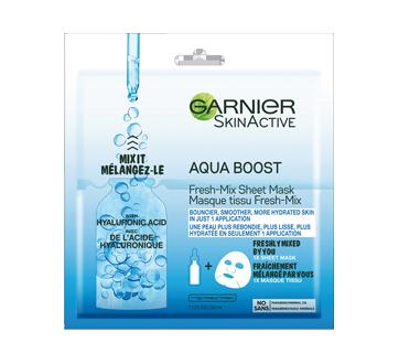 SkinActive Moisture Bomb Aqua Boost Fresh-Mix Sheet Mask, 1 unit