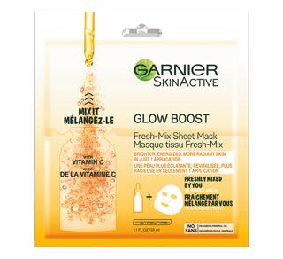 SkinActive Glow Boost Fresh-Mix Sheet Mask, 1 unit