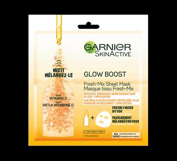 Skinactive Glow Boost Fresh Mix Sheet Mask 1 Unit Garnier Mask Jean Coutu