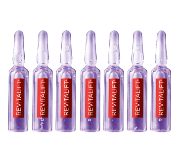 Revitalift Triple Power LZR 7-Day Treatment Replumping Ampoules with 1.9% Pure Hyaluronic Acid, 7  x 1.3  ml