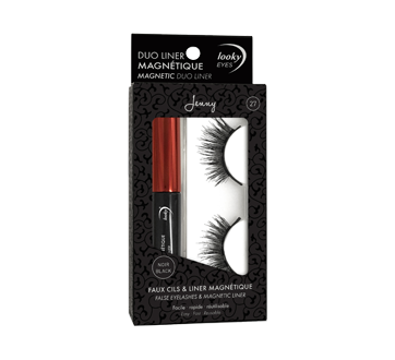Image of product Elle R Cosmetics - Looky False Eyelashes & Magnetic Liner, 1 unit, Jenny #27