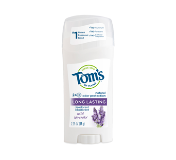 Image of product Tom's of Maine - Long Lasting Deodorant, 64 g, Wild Lavender