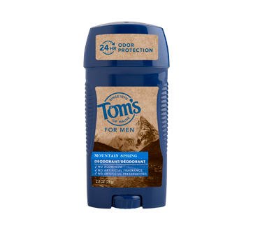 Men's Long Lasting Deodorant, 79 g, Mountain Spring