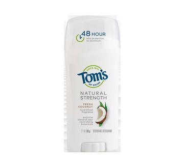Natural Strength Deodorant, 60 g, Fresh Coconut