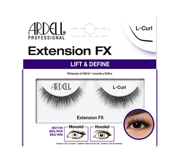 Image of product Ardell - Extension FX Lashes, 1 unit, L-Curl