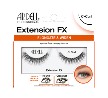 Extension FX Lashes, 1 unit, C-Curl