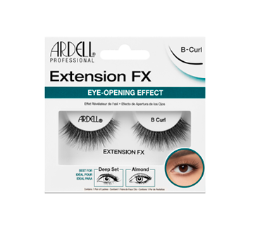 Extensions FX Lashes, 1 unit, B-Curl