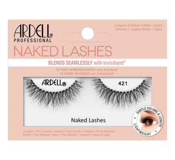 Naked Lashes, 1 unit, #421