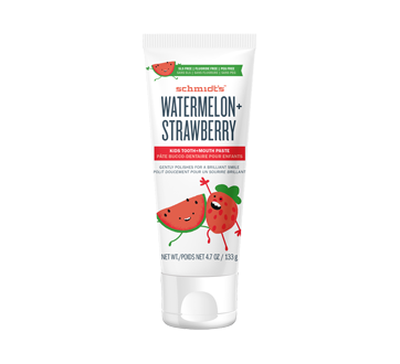 Tooth Paste, 133 g, Watermelon + Strawberry