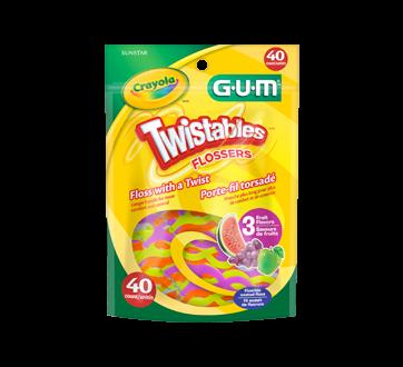 Twistable Flossers, 40 unités