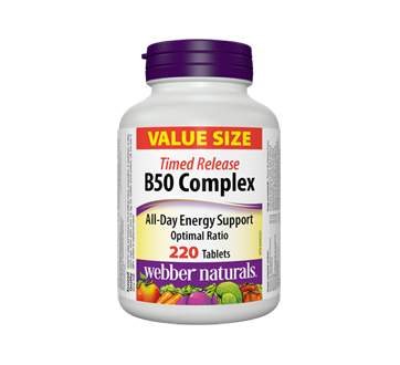 Image of product Webber Naturals - B50 Complex Timed Release Tablets, 220 units