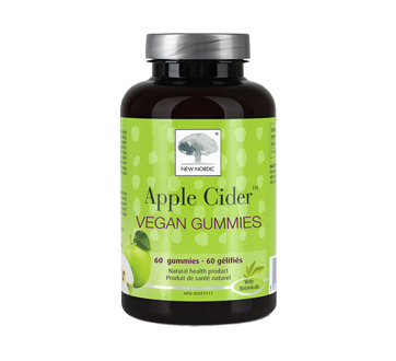 Image 1 of product New Nordic - Apple Cider Vegan Gummies, 60 units