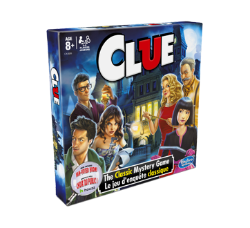 Image 2 of product Hasbro - Clue Board Game, 1 unit