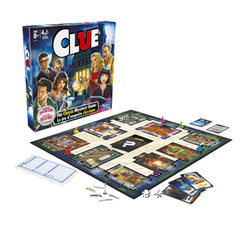 Image 3 of product Hasbro - Clue Board Game, 1 unit