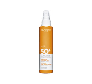 Image of product Clarins - Sunscreen Body Lotion Spray SPF 50, 150 ml