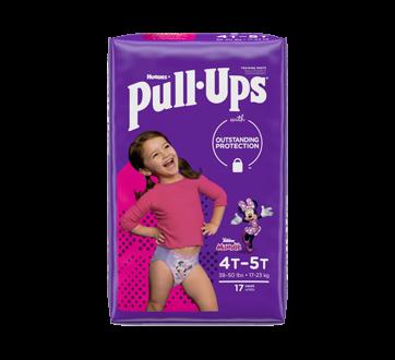 Pull-Ups Learning Designs Girls' Training Pants, 17 units, 4T-5T