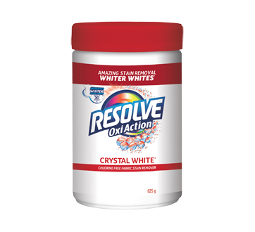 Crystal White Oxi Action Stain Remover, 625 g