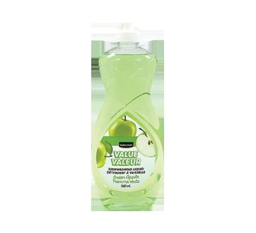 Value Dishwashing Liquid, 560 ml, Green Apple