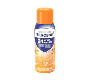 Image of product Microban - 24 Hour Disinfectant Sanitizing Spray, Citrus