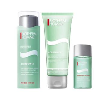 Image 2 of product Biotherm - Aquapower for Dry Skin Set, 3 units