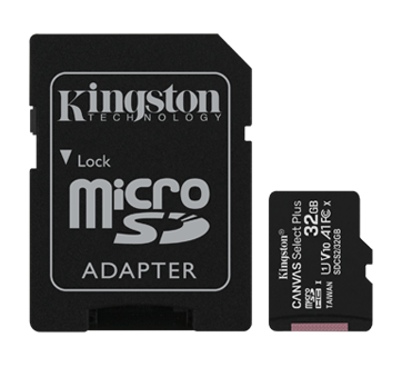 Canvas Select Plus 32gb Micro SDHC Card with Adapter, 1 unit