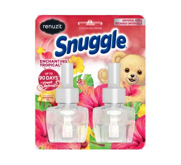 Snuggle Oil Refill Fresherner, 2 x 20 ml, Tropical