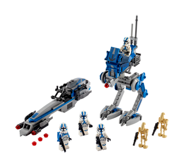 Image 2 of product Lego - 501st Legion Clone Troopers, 1 unit