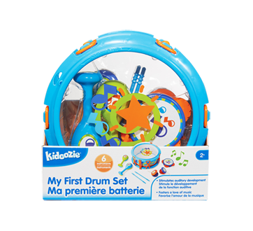 Image 2 of product Kidoozie - My First Drum Set, 1 unit