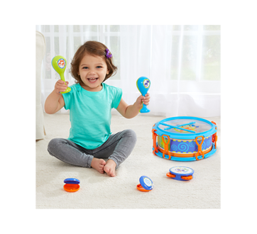 Image 3 of product Kidoozie - My First Drum Set, 1 unit